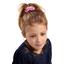 Chouchou mini  fleurette blush