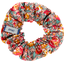 Chouchou mini floral pêche - PPMC