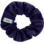 Small scrunchie navy blue