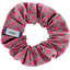 Small scrunchie grey pink petals - PPMC
