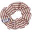 Chouchou mini rayures cuivrées - PPMC