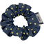 Mini Scrunchie navy gold star - PPMC