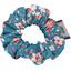 Mini Scrunchie fleuri nude ardoise - PPMC