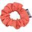 Mini Scrunchie gaze dentelle corail - PPMC