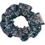 Mini Scrunchie paquerette marine - PPMC