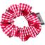 Mini Scrunchie ladybird gingham - PPMC