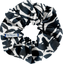 Scrunchie chinese ink foliage  - PPMC