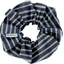 Scrunchie striped silver dark blue - PPMC