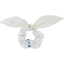 Bunny ear Scrunchie white sequined - PPMC