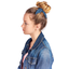 Bunny ear Scrunchie light denim