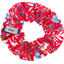Small scrunchie cherry cornflower - PPMC