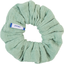 Small scrunchie sage green gauze