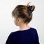 Small scrunchie navy blue
