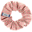 Small scrunchie mini pink flower - PPMC