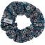 Small scrunchie paquerette marine - PPMC