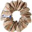 Small scrunchie bronze copper stripe  - PPMC