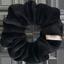 Chouchou mini  velours noir - PPMC