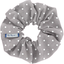 Scrunchie light grey spots