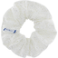 Scrunchie white sequined - PPMC
