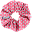 Scrunchie small flowers pink blusher - PPMC