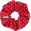Scrunchie red spots