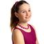 Chlidren necklace fuschia spots