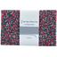1 m fabric coupon camelias rubis - PPMC