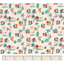 1 m fabric coupon carnaval d'eléphants