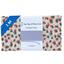 Coupon tissu 1 m confetti aqua - PPMC