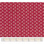 1 m fabric coupon cosmo rouge ex1009