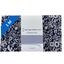 Coupon tissu 1 m violette pervenche marine ex1039 - PPMC