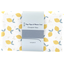 Coupon tissu 1 m citrons jaune blanc ex1056 - PPMC