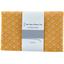 Coupon tissu 1 m graphique ocre ex1077 - PPMC