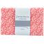 Coupon tissu 1 m petites fleurs rougeex1087 - PPMC