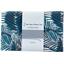 Coupon tissu 1 m feuillage marine - PPMC