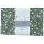 1 m fabric coupon fleuri kaki - PPMC