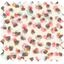 Coupon tissu 50 cm confetti aqua