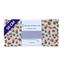Coupon tissu 50 cm confetti aqua - PPMC