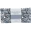 Coupon tissu 50 cm violette pervenche marine ex1039 - PPMC