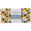 Coupon tissu 50 cm fleurs moutarde ex1055 - PPMC