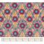 Coupon tissu 50 cm fleurs de savane