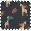 Coupon tissu 50 cm palma girafe