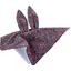 Doudou Lapin camelias rubis - PPMC