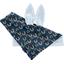 Doudou Lapin poules en ciel - PPMC