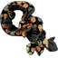 Twisted fleece scarf bulles dorées - PPMC