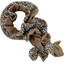 Twisted fleece scarf foliage - PPMC