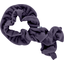 Twisted fleece scarf plum - PPMC