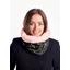 Fleece scarf snood constellations