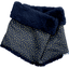Bufanda de tubo para niños estrella de oro azul marino - PPMC
