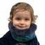 Echarpe tube enfant  hiver sauvage